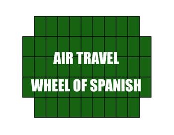 Avancemos 4 Unit 3 Lesson 2 Wheel of Spanish