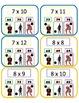 Avengers Multiplication - Poke Math Cards