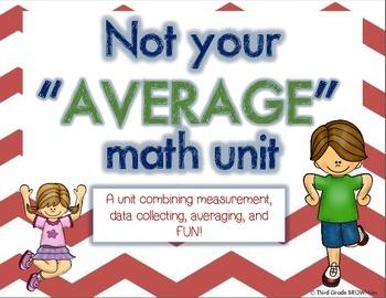 Average Unit: A Unit Incorporating Averaging, Measurement,