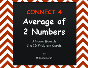 Average of 2 Numbers - Connect 4 Game