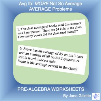 Averages Ib