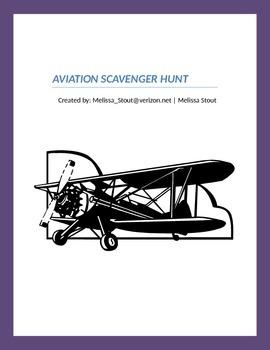 Aviation Scavenger Hunt