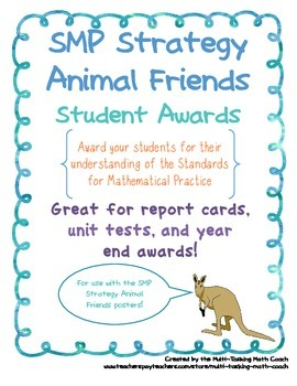 Award Students with SMP Animal Friends Awards