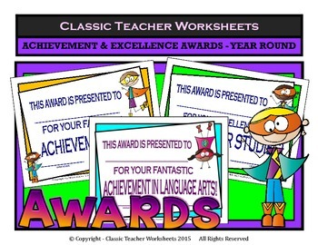 Awards-Awards Day-Achievement & Excellence Awards-Year Rou