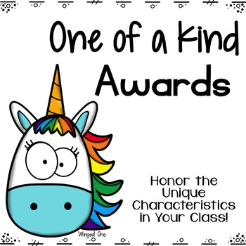 Awards: One of a Kind