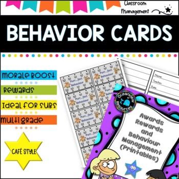 Awards, Rewards and Behaviour Management