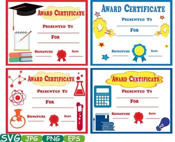 Awards School Clip Art Diplomas Graduation Day Achievement