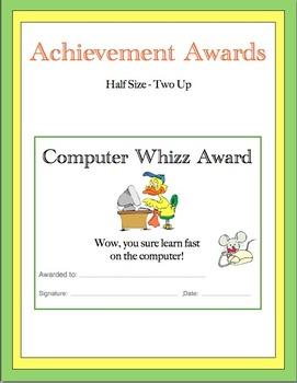 A Bundle - Awards to Print