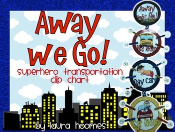 Away We Go! Super Transportation Clip Chart