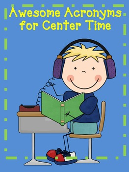 Awesome Acronyms for Center Time