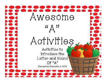 Awesome Activities for A