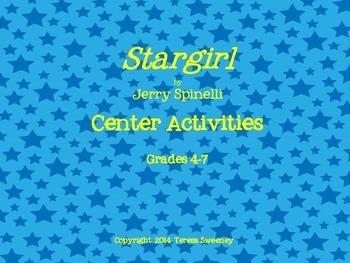 Stargirl Center Activities for Grades 4-7