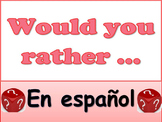 Awesome Best Seller Would You Rather? Spanish Version