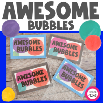 Awesome Bubbles- Self Confidence Activity