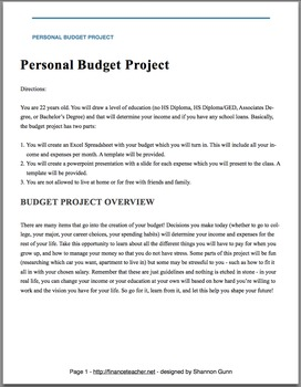 Awesome Budget Project - Thorough and Effective!