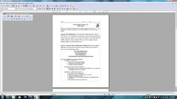 Awesome MLA Research with Brochure Template, Oral, and Rubric