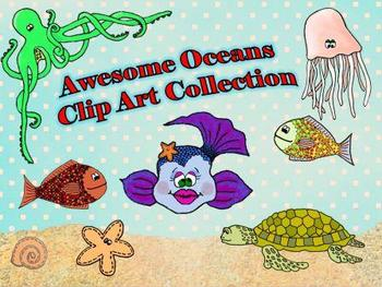Awesome Oceans Clip Art Collection!