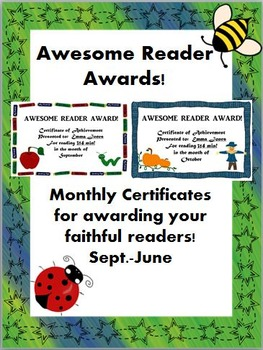 Awesome Reader Awards!