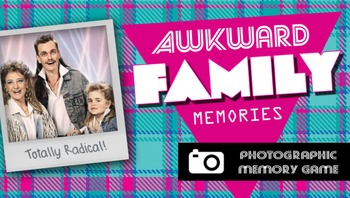 Awkward Family Memories - Photographic Memory Game