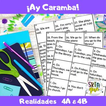 Ay Caramba (Realidades 4A-4B)