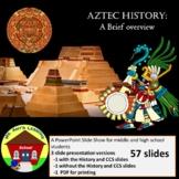 Aztec Civilization: a brief overview PowerPoint Presentation