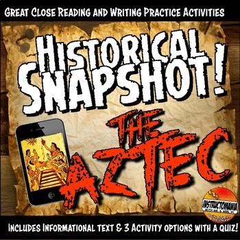 Aztec Historical Snapshot Close Reading Investigation, Ana