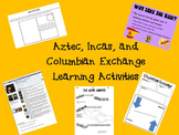 Aztec, Inca, and Columbian Exchange Mini Unit