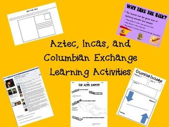 Aztec, Inca, and Columbian Exchange Mini Unit