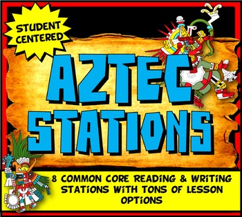 Aztec Stations Activity with Graphic Organizer & Foldable Option