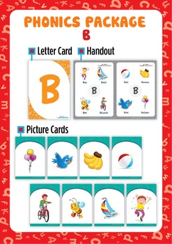 'B' Phonics Resource Package