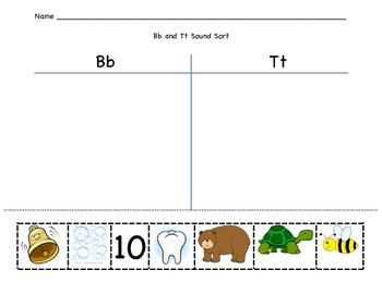 B and T Sound/Picture Sort