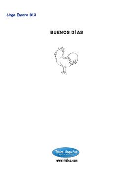 B13-BUENOS DÍAS