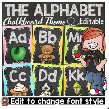 BACK TO SCHOOL CLASS DECOR {LETTERS OF THE ALPHABET DISPLA