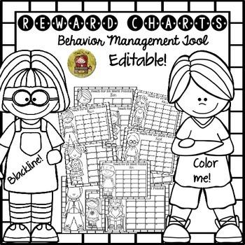 BACK TO SCHOOL CLASSROOM/BEHAVIOR MANAGEMENT REWARD CHARTS