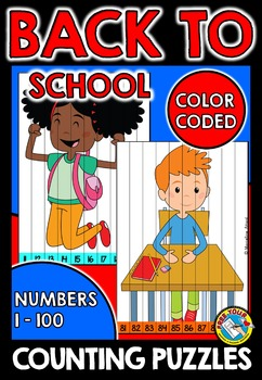 BACK TO SCHOOL COUNTING PUZZLES: BACK TO SCHOOL MATH CENTER