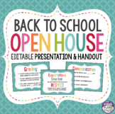 BACK TO SCHOOL MEET THE TEACHER NIGHT PRESENTATION (Open House)
