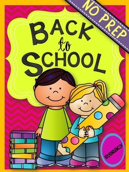 BACK TO SCHOOL { NO PREP } LANGUAGE ARTS / READING SKILLS