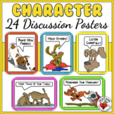 23 Fun Character & Manners Dog Theme Mini-Posters - rules