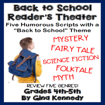 """""""Back to School"""" Reader's Theater Scripts, Five Humorous P"""