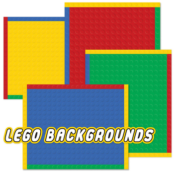 BACKGROUND LEGO inspired - JPEG and PNG 8x10 scaleable