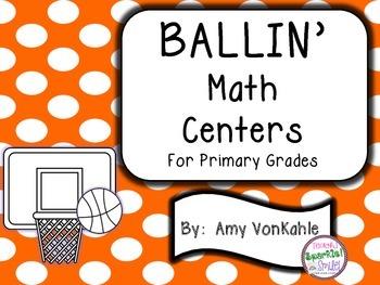 BALLIN' Math Centers for Primary Grades