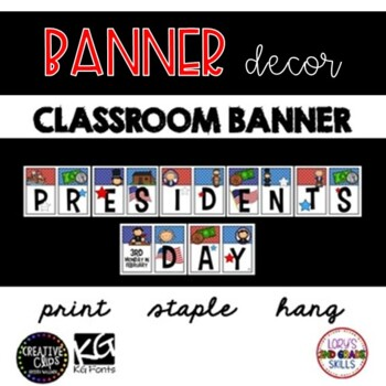 BANNER - Presidents Day