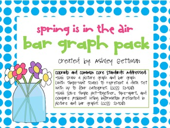 BAR GRAPHING UNIT - SPRING IS IN THE AIR!