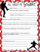 BASEBALL - Welcome Back / student activities/ classroom forms