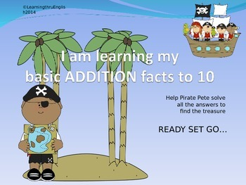 BASIC FACTS TO 10 - PIRATE PETE POWERPOINT