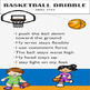 BASKETBALL DRIBBLE SKILL CUES POSTER