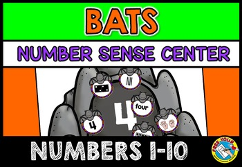 BAT ACTIVITIES: BATS MATH CENTER: BATS KINDERGARTEN CENTER