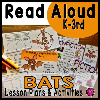 BATS NONFICTION CLOSE READ ACTIVITIES with SCIENCE