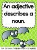 BATjectives {Bat themed adjective activities}