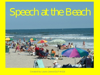 BEACH PREPOSITIONAL PHRASES